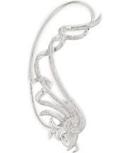 Ohrringe Fontana aus 18kt Weißgold mit weißen Diamanten