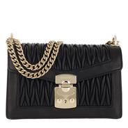 194328bbde9 Miu Miu Tasche - Matelassé Push Lock Crossbody Bag Black - in schwarz -  Tasche für