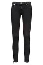 a68e596f3063 Skinny-Fit Cropped-Jeans aus Superstretch-Denim mit seitlichen  Reißverschlüssen. HUGO BOSS