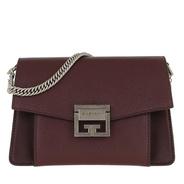 8970db18fd2b5 Givenchy Umhängetasche - GV3 Nano Crossbody Bag Leather Bordeaux - in rot - Umhängetasche  für Damen